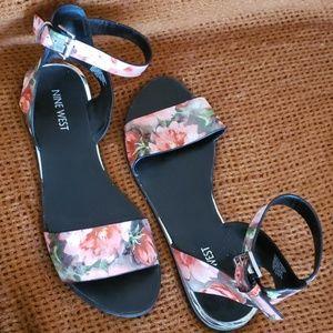 Nine West ankle strap sandals